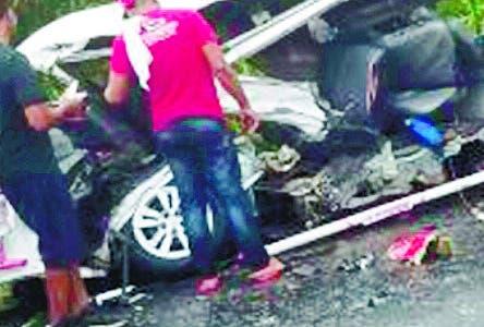 Choque deja al menos cinco muertos y 15 heridos en carretera Maimón-Cotuí.  Hoy/Fuente Externa 26/6/19