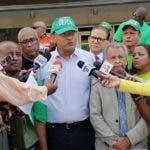 Representantes del Movimiento Marcha Verde ofrecen  declaraciones a la prensa.  Hoy/Fuente Externa 17/6/19