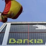 A picture taken on May 29, 2012 shows the headquarters of the Spanish bank Bankia in Madrid. Bankia's board on May 25 asked the state to inject 19 billion euros to help it abide by more stringent capital rules, in addition to 4.465 billion euros invested by the state earlier this month.  AFP PHOTO/DOMINIQUE FAGET