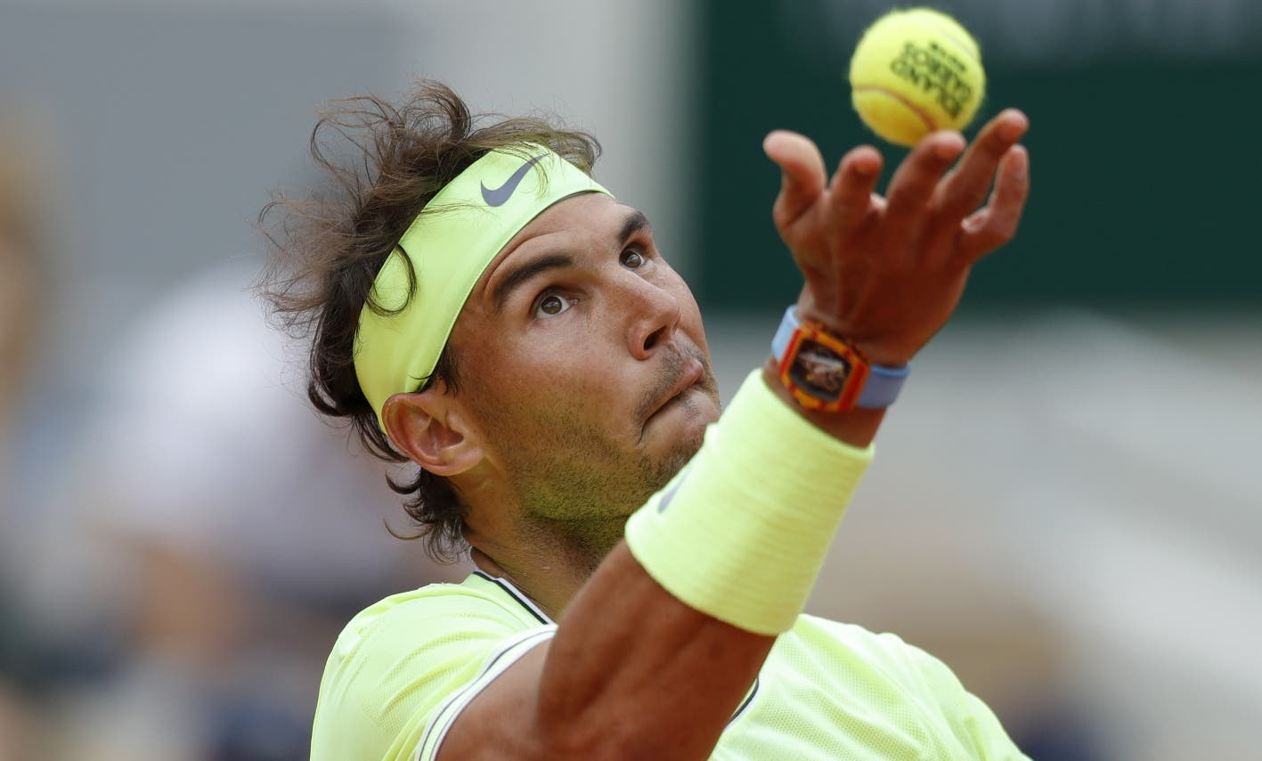 Nadal completa el último entrenamiento de la semana con vistas a Wimbledon
