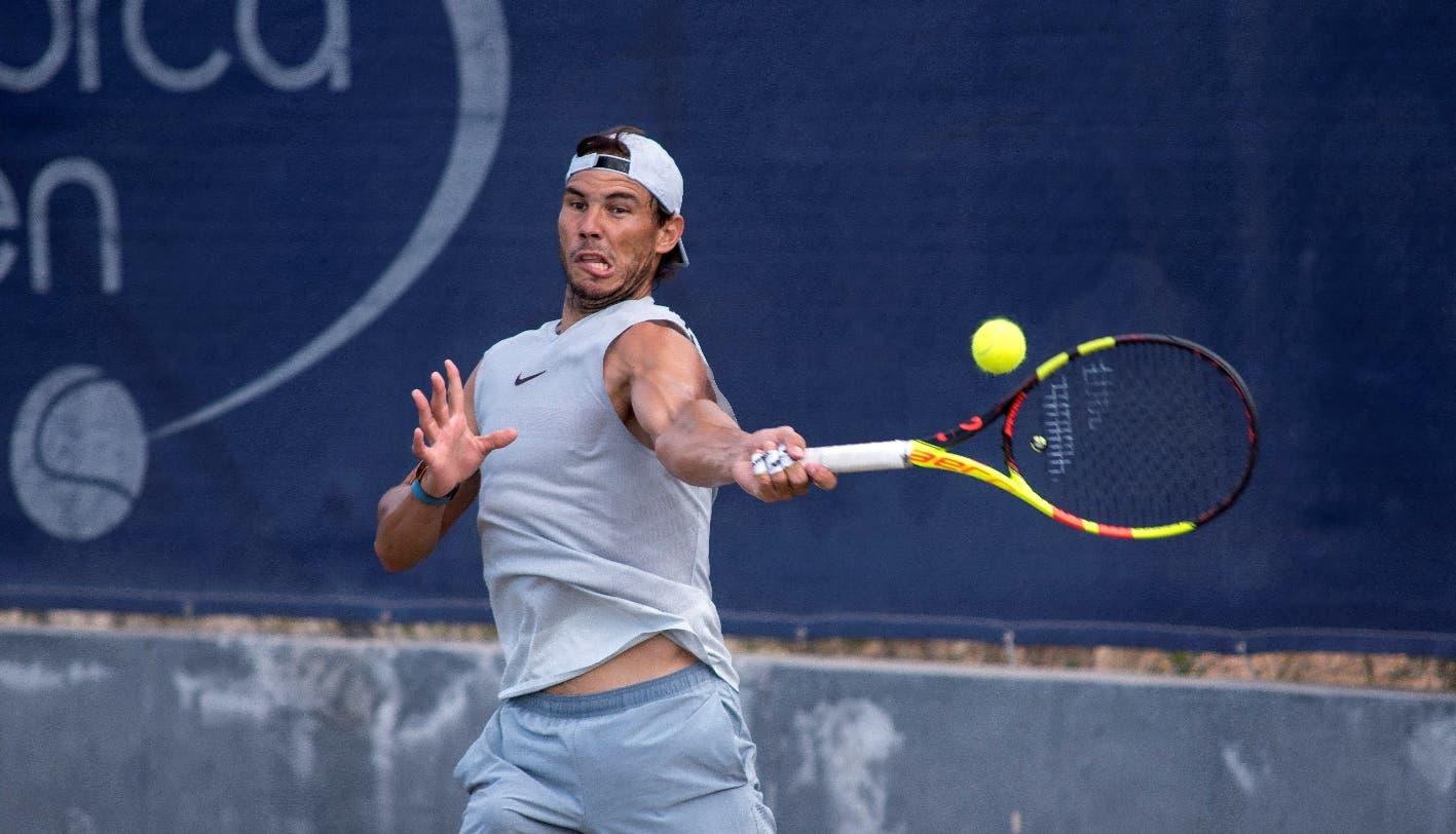 Nadal debutará contra Sugita y evita a Djokovic hasta la final