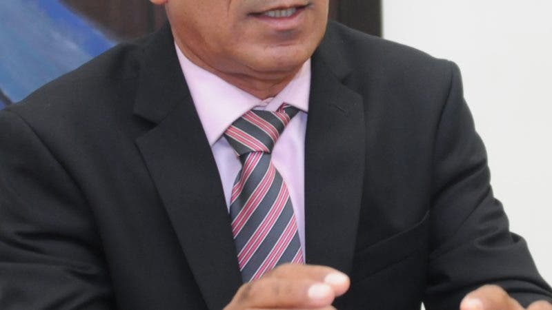 Entrevista a Alcalde de Sabana Larga, Juan Ant. Castiillo. 7-06-19 Foto: Jose Adames Arias.