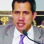 AME4417. CARACAS (VENEZUELA), 18/06/2019.- El presidente de la Asamblea Nacional, Juan Guaidó, participa en una sesión de la entidad, este martes en Caracas (Venezuela). El Parlamento venezolano debate este martes la situación de los derechos humanos en el país. EFE/Rayner Peña