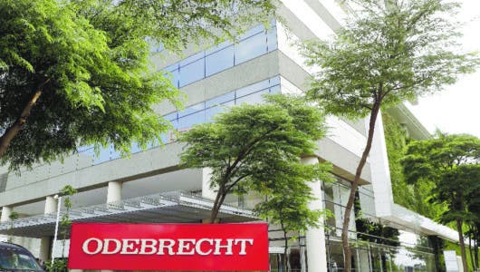 La Constructora Odebrecht de Brasil se declara en bancarrota