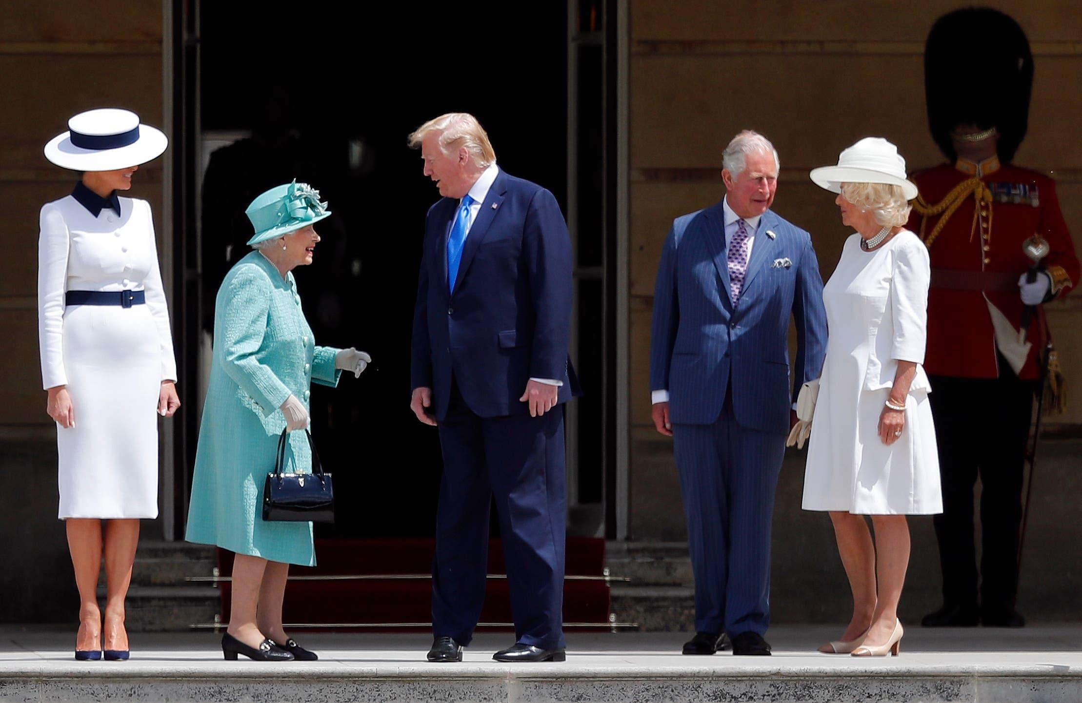Britain Trump