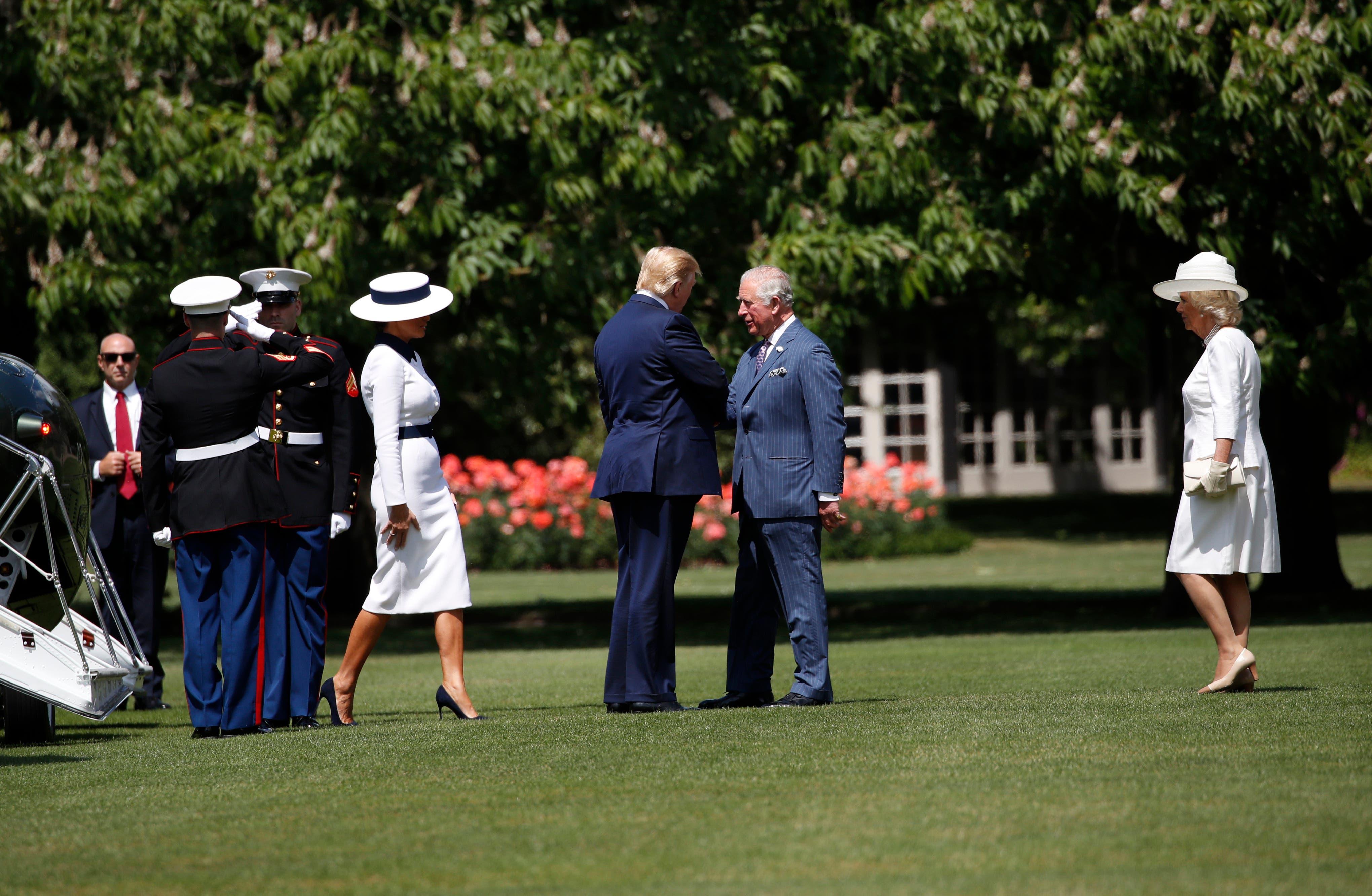 Donald Trump, Prince Charles