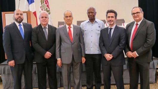 Angel Estrada Claudiano Manoel de Albuquerque,Conrado Peguero, Nouel de la Cruz, Jean-Baptiste Gros y José Adrián Vargas