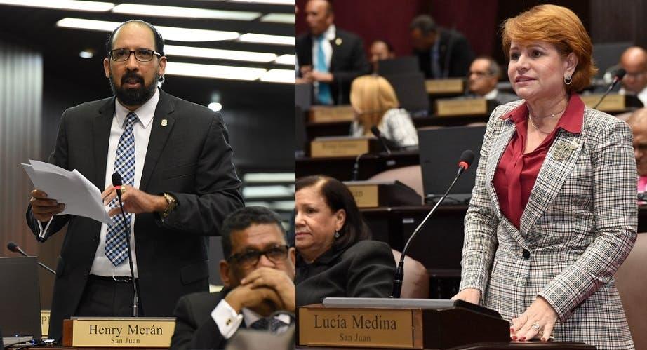 """Henry Merán explica su """" incidente verbal"""" con Lucía Medina en la Cámara de Diputados"""