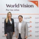Ilonka-Herrera-y-Juan-Carlo-Ramirez, directivos de World Vision Rep. Dom
