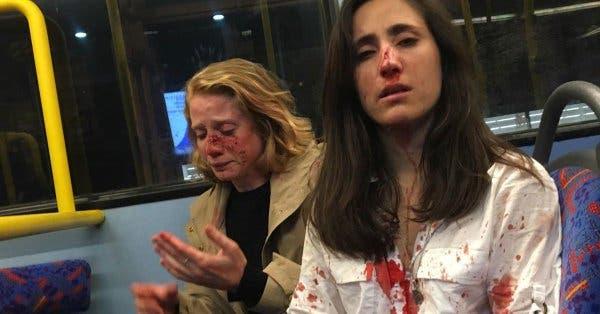 Jóvenes agrede una pareja de chicas en  autobús de Londres tras exigirles que se besaran