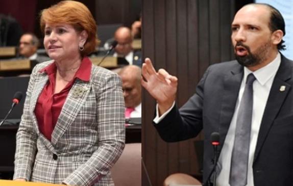 Video: Fuerte discusión entre Lucia Medina y Henry Merán en la Cámara de Diputados; aquí todo lo que pasó
