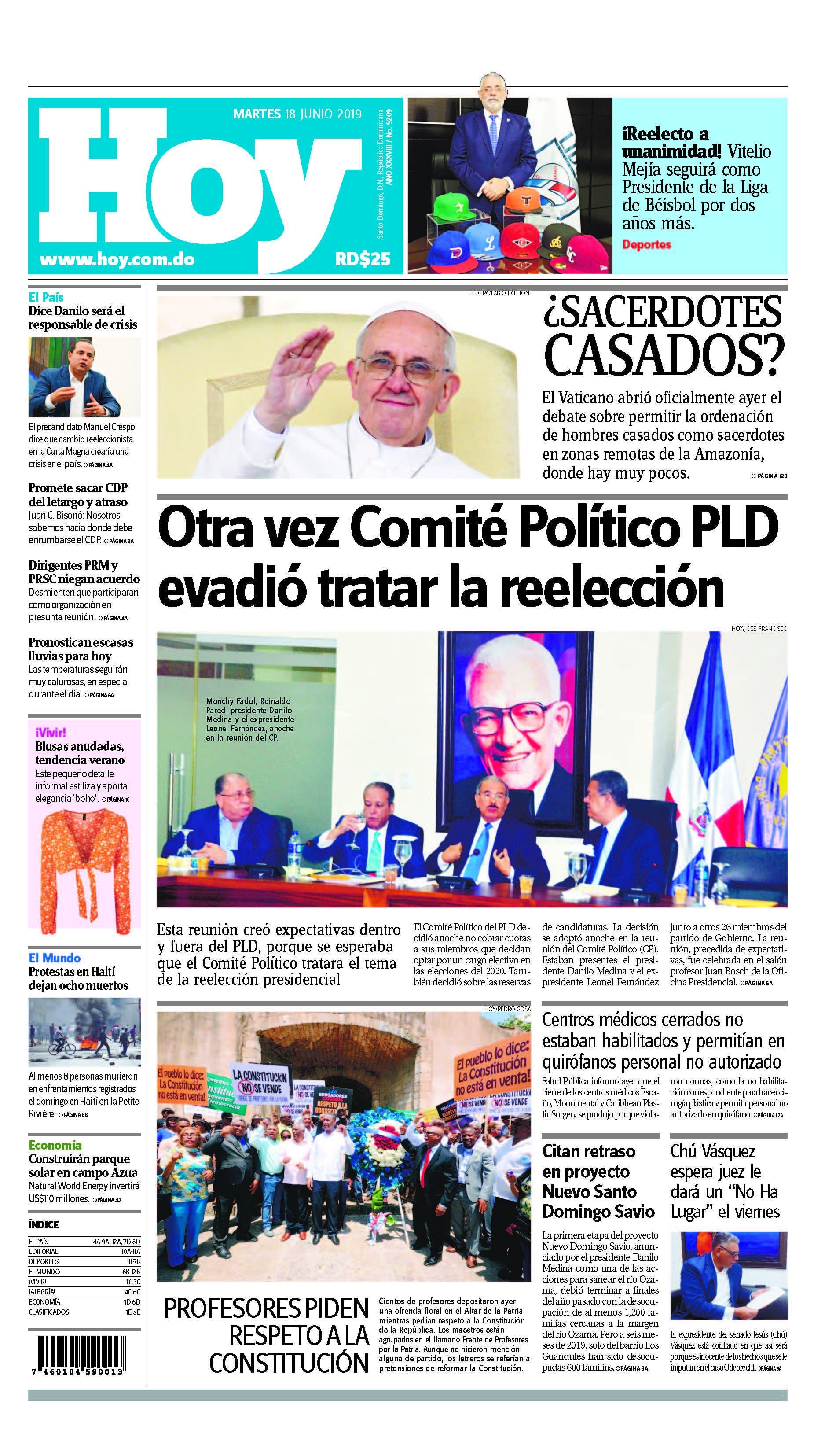 Pages from Edición impresa HOY martes 18 de junio del 2019