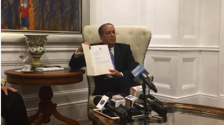 VIDEO: Reinaldo Pared: Seguridad del Estado había advertido intención de grupos de apoderarse del Congreso