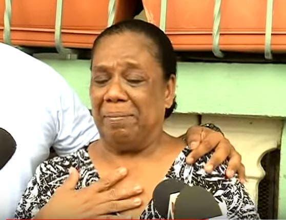 Video: «Me maltrataron y me dijeron quítese de ahí» asegura madre de uno de los implicados en caso David Ortiz