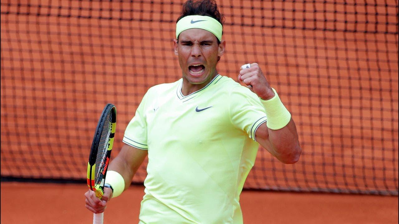 Nadal supera a Federer y llega a final de Abierto de Francia