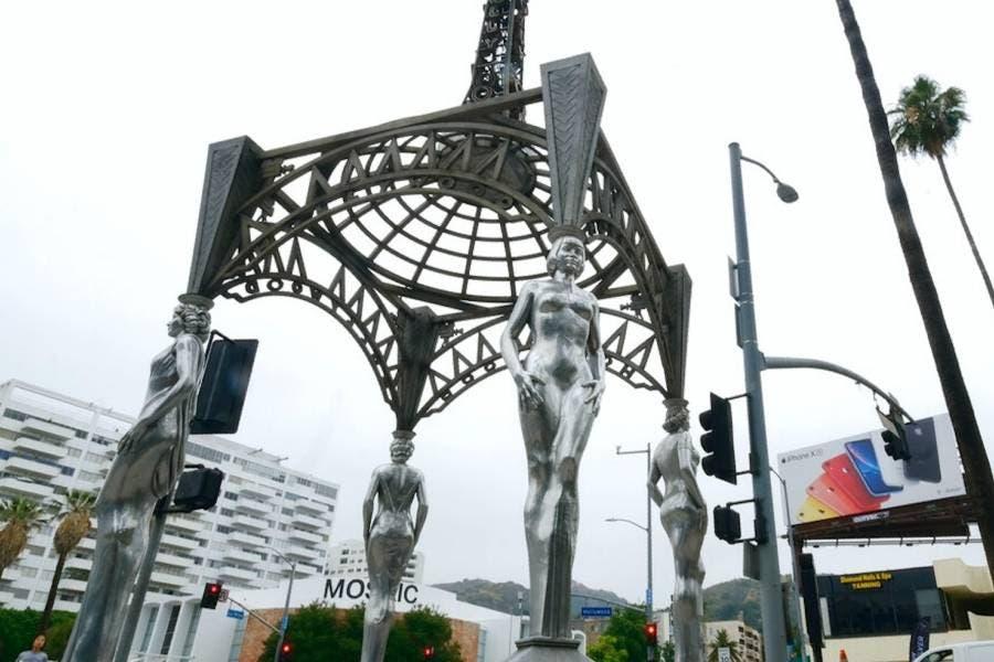 Estatua de Marilyn Monroe es robada de obra de arte pública en Hollywood