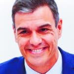 """GRAF5819. MADRID, 18/07/2019.- El presidente del Gobierno en funciones, Pedro Sánchez, durante su intervención en la Comisión Ejecutiva Federal del Partido Socialista, celebrada este jueves en Ferraz, en la que el secretario de Organización del PSOE y el ministro de Fomento en funciones, José Luis Ábalos, ha afirmado que centrarán ahora el esfuerzo en hablar con el líder del PP, Pablo Casado, porque """"España necesita un Gobierno"""" y """"los retos exigen la concurrencia de otros partidos, concretamente del que ha gobernado"""". EFE/ Emilio Naranjo"""