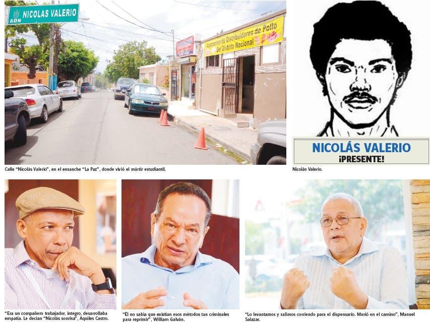 Calles y avenidas: Nicolás Valerio, un mártir olvidado