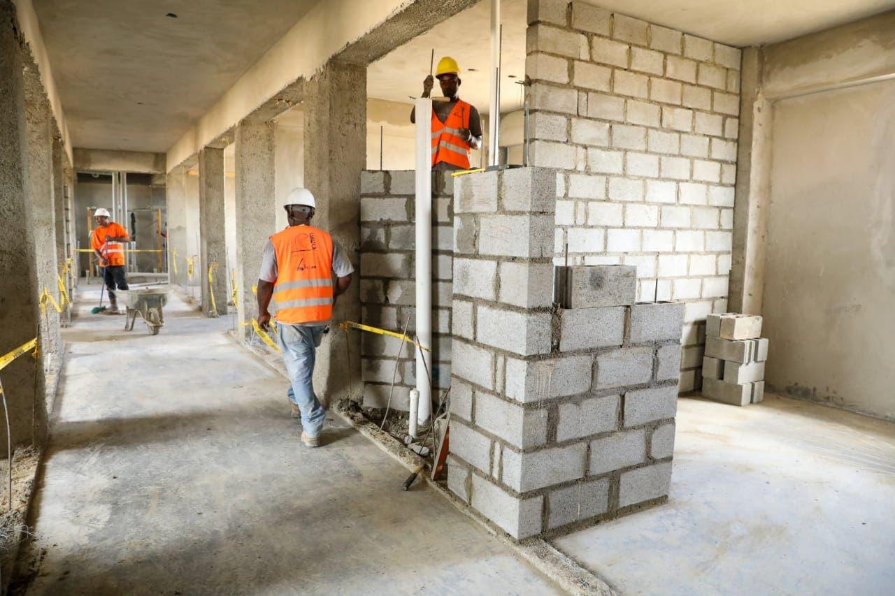 Así van los trabajos de construcción del penal La Nueva Victoria