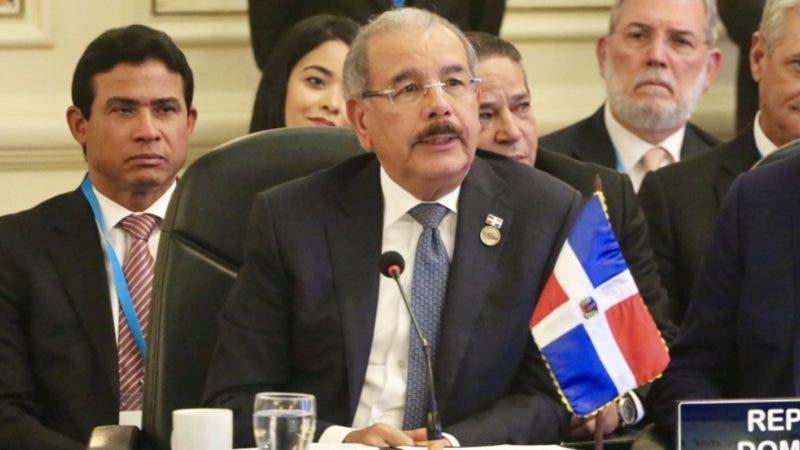 GUATEMALA. - El presidente Danilo Medina participó hoy en la LIII Reunión de Jefes de Estado y de Gobierno del Sistema de Integración Centroamericana (SICA).  Hoy/Fuente Externa 5/6/19