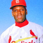 FILE - In this March 1968 file photo, St. Louis Cardinals pitcher Bob Gibson is pictured during baseball spring training in Florida. Gibson is fighting pancreatic cancer. The St. Louis Post-Dispatch said the 83-year-old Hall of Famer was diagnosed with the cancer several weeks ago and revealed the news Saturday, July 13, 2019, to the other living Hall of Famers. (AP Photo, File)