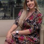 Entrevista en la redacción a una modelo en foto : Rosmeri Alegría hoy Duany Nuñez  22-7-2019