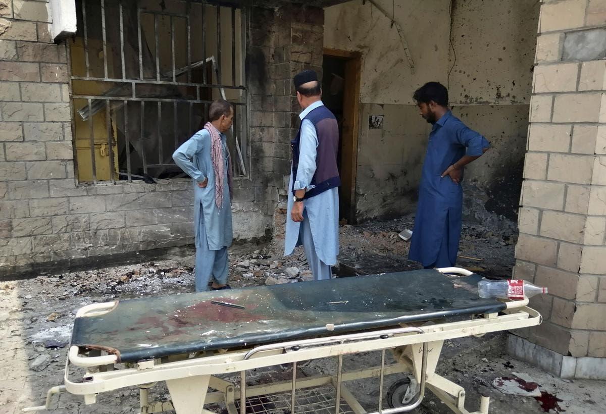 Nueve muertos en ataque suicida a un hospital en Pakistán