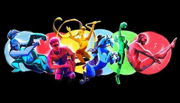 """Google dedica un """"doodle"""" a los Juegos Panamericanos en el día de su apertura"""