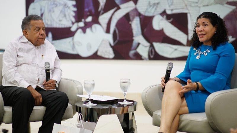 Almuerzo semanal del Grupo de Comunicaciones Corripio, con la señora Sonia Vásquez Representante Nacional de UNFPA, en la República Dominicana, señora Jeannie Ferreras Oficial Nacional de Programa Género y Juventu y la señora Dulce Chahin Oficial Nacional de Programa Salud Sexual y Reproductiva. Hoy/ Arismendy Lora 10/07/2019