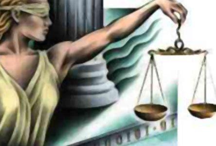 El Pais.-Logo Justicia