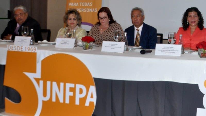 La oficina del Fondo de Población de las Naciones Unidas en R.D. celebro hoy el 50 Aniversario de la organización global, con la participación de Sonia Vásquez, de UNFPA, Isidoro Santana, MEP y D, Sergia Galván , José Raúl Vargas , entre otros. Hoy/Arlenis Castillo/1/07/19.