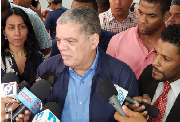 Carlos Amarante Baret, aspirante presidencial por el PLD.