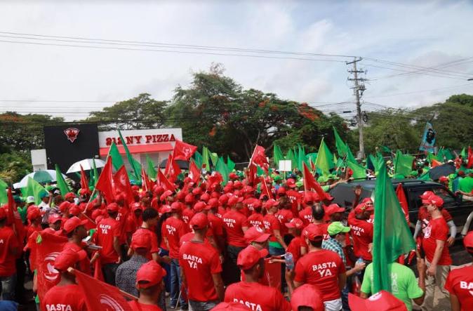 """Movimiento """"Basta Ya"""" denuncia corrupción ha llegado a límites insostenibles"""