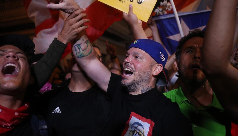 Artistas de Puerto Rico reaccionan satisfechos a la dimisión de Ricardo Rosselló