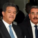 Leonel Fernández y Danilo Medina. Fuente externa.