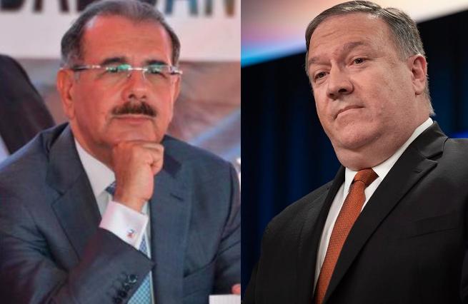 Danilo Medina y Pompeo