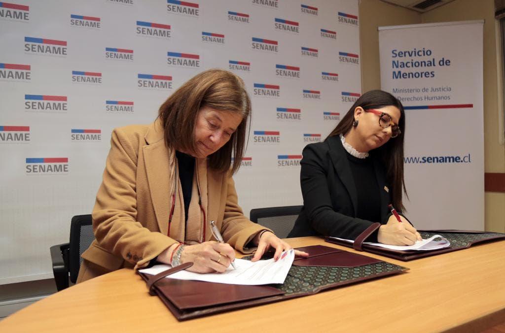 Firma de acuerdointerinstitucional de alta importancia para los NNA de Chile y República Dominicana