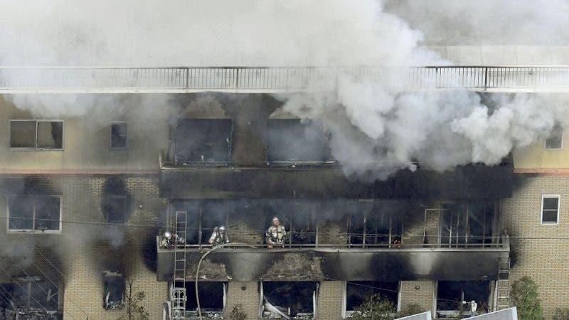 Incendio Japón