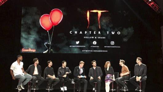 "Elenco de ""It 2"" habla de su intenso rodaje en la Comic-Con"