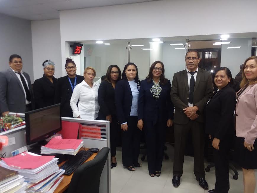 Inauguran despacho judicial de la Corte Penal SC