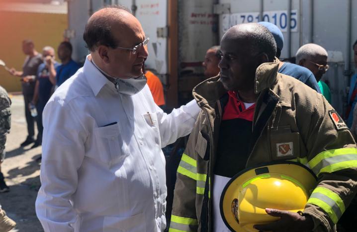 Videos: Lo que dijo el presidente de la JCE sobre el incendio y los equipos que se usarán en las primarias