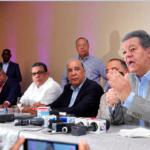 El expresidente Leonel Fernández encabezó una reunión con su tropa, en el hotel Sheratonl/Hoy/Pablo Matos