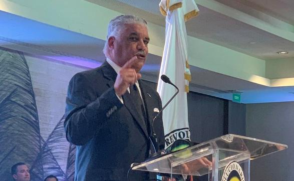 Miguel Vargas respalda a eventual reforma a Constitución; dice mantendrá alianza con PLD solo si Danilo Medina es candidato