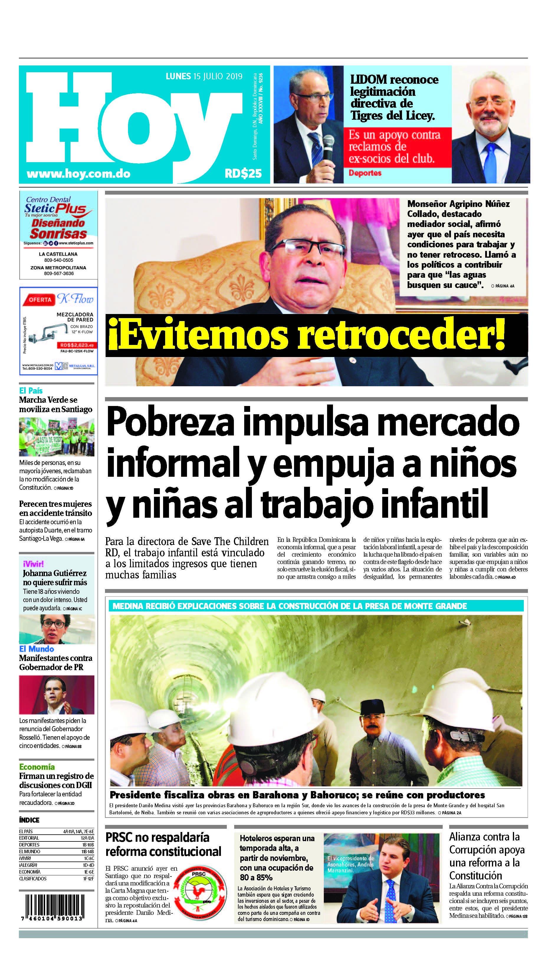 Pages from Edición impresa HOY lunes 15 de julio del 2019