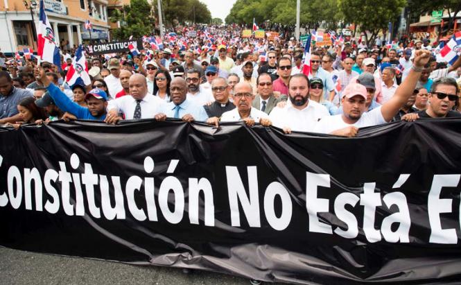 El otro plan que tendrían grupos protestaron frente al Congreso, según el director del DNI