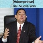 Renuncia secretario general filial Adompretur NY