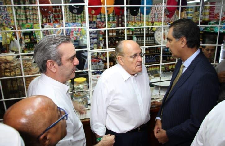 Giuliani: dominicanos no están condenados a vivir como si fueran prisioneros