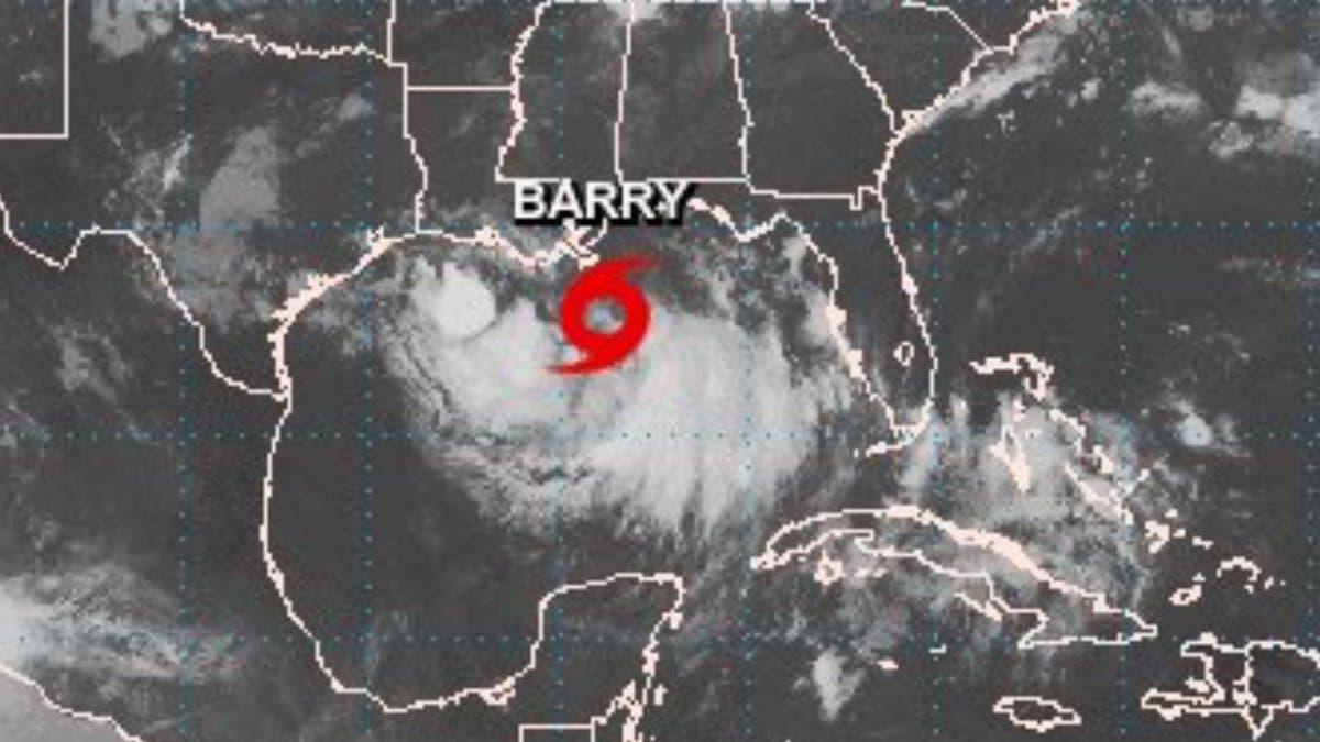 Se forma la tormenta tropical Barry; alcanzaría rango de huracán en la tarde del viernes