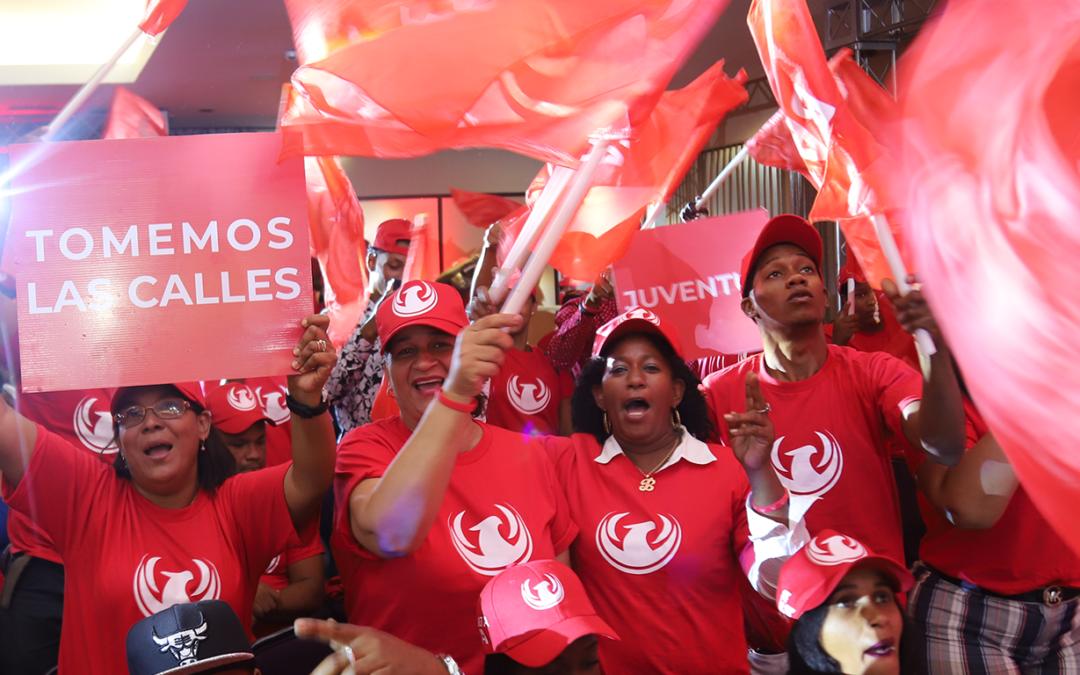 """Movimiento """"Basta Ya"""" se une a Marcha del Cibao para protestar contra la corrupción y la impunidad"""