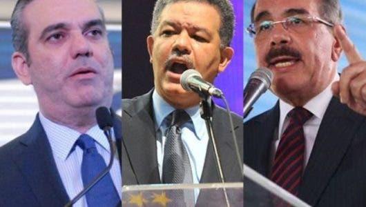 Luis Abinader, Leonel Fernández o Danilo Medina, entérate cuál será el presidente en el 2020, según encuesta ABC